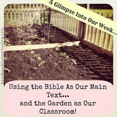 The Garden as Our Classroom