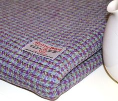AUTHENTIC HARRIS TWEED FABRIC & LABELS - 100% wool - tartan herringbone plain | eBay