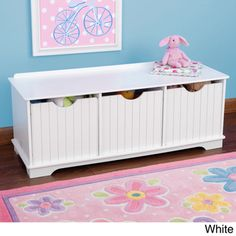 KidKraft Nantucket Storage Bench | Overstock™ Shopping - The Best Prices on KidKraft Kids' Furniture