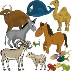 Bible animals clip art  Its like Bible Felt Stories for the Digital Age! Economical: Print as many as you need, over and over.