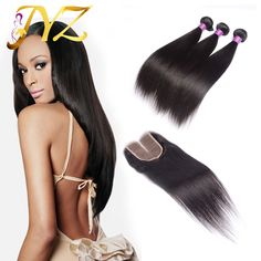 Find More Human Hair Weft with Closure Information about Peruvian Straight Virgin Hair With Closure Cheap 7A Grade Peruvian Human Hair Weave With 4x4 Free/Middle/Three Part Lace Closure