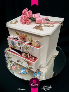 Jewelry Box Cake by Kalid M. Torres