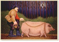 In Search of the Truffle, Lowell Herrero