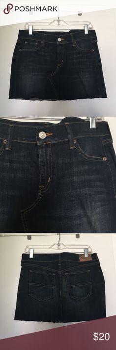 "Ralph Lauren Denim & Supply Mini Skirt Size 29 SIZE 29. 95% cotton, 3% polyester, 2% elastane. Length: 13.5"". NO TRADES/PAYPAL. Denim & Supply Ralph Lauren Skirts Mini"