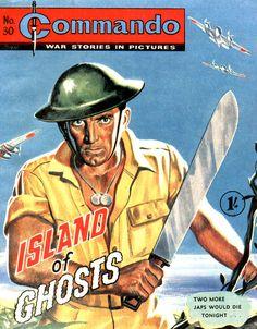 Ken Barr's Commando Covers