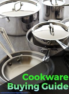 See our our buying guide to help you choose the best cookware for your kitchen.