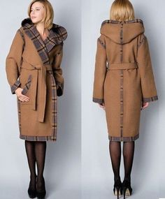 Sewing patterns winter coat 17 Trendy ideas - Sewing patterns winter coat 17 Trendy ideas You are in the right place about outfits comodos Here w - Hijab Fashion, Fashion Dresses, Coats For Women, Clothes For Women, Coat Patterns, Sewing Patterns, Jacket Pattern, Coat Dress, Winter Coat
