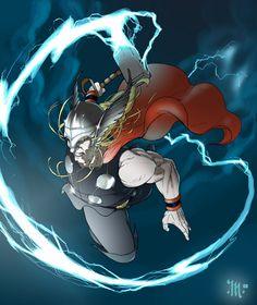 Thor, God of Thunder by Tony Matta