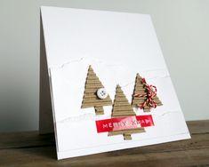 Kerstkaarten maken 2013 - simpele kerstkaarten stijlvol & snel - Christmas greeting cards - Christmaholic