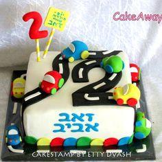 במפי על עוגה