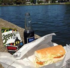 Parkway Bakery & Tavern, which is situated within sight of that stretch of the bayou, is the perfect place to order a po' boy and either relax on their back deck or take the sandwich across the street and enjoy al fresco.