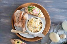 Fajnový vajíčkový salát Dairy, Pudding, Cheese, Meat, Chicken, Desserts, Food, Tailgate Desserts, Deserts