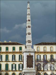 Plaza de la Merced, Malaga, Andalusia, Spain