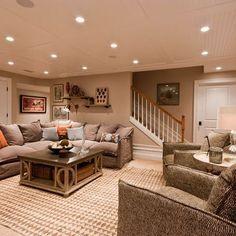 11 doable ways to diy a basement ceiling basements basement rh pinterest com