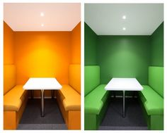 11 Quiet booth combined 700x562 TNS Australian Advertising Offices