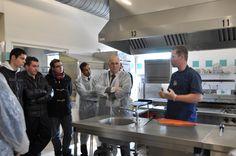 Demonstartion & Talk at the Catering College of Saumar France Atlantic Salmon, Connemara, Smokehouse, Smoked Salmon, Catering, Irish, College, France, University