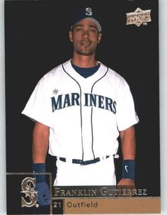 2009 Upper Deck Baseball Card # 859 Franklin Gutierrez - Mariners - MLB Trading Card by Upper Deck. $1.87. 2009 Upper Deck Baseball Card # 859 Franklin Gutierrez - Mariners - MLB Trading Card