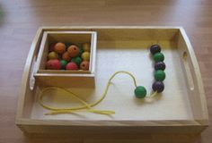 Lots of suggestions for Montessori Practical Life Work