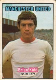 Nigel's Webspace - A&BC Chewing Gum - 1970/71, Footballers, Orange backs, Manchester United
