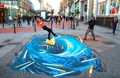This is a collection of some inspiring and creative street art from all over the world.