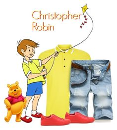 """Christopher Robin: Park Ready"" by majezy ❤ liked on Polyvore featuring Burberry and Givenchy"