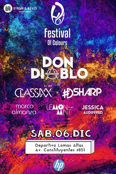 -HOLI FESTIVAL OF COLOURS 2014 - 6 de Diciembre - Deportivo Lomas Altas - México DF