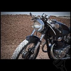 """The Dime City """"Classic Cafe"""" CB450 Racer"""
