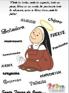 Las 694 Mejores Imágenes De Santa Teresa De Jesús Santa