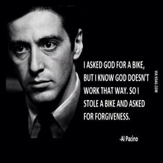 Enjoy the best of Al Pacino quotes. Movie Quotes by Al Pacino, American Actor. You wanna fuck with me? Scarface Quotes, Godfather Quotes, The Godfather, Goodfellas Quotes, Gangster Quotes, Badass Quotes, Al Pacino, Wisdom Quotes, Quotes To Live By