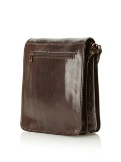 45f90b873995 50% OFF Merci Marie Women s Fiorella Small Messenger Bag (Dark Brown) New  Handbags