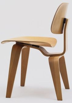 Charles Ormond and Ray Eames chair DCW 1946