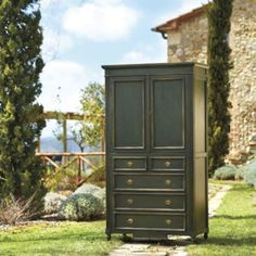 Navona Media Armoire  | Ballard Designs  Wouldn't ship until March