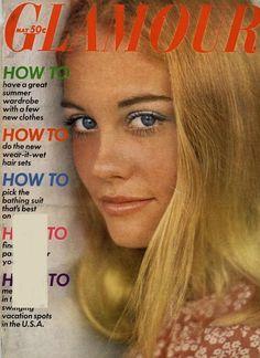 Cybill Shepherd covers Glamour Magazine (US)-May 1969