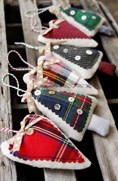 Handmade christmas gifts sewing projects