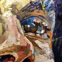 Andrew Salgado, 1982 | Figurative Abstract painter | Tutt'Art@ | Pittura * Scultura * Poesia * Musica | Abstract Portrait, Portrait Art, Plastic Art, A Level Art, Abstract Painters, Art Graphique, Art Sketchbook, Face Art, Figure Painting