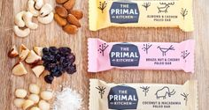 Snack bars from The Primal Kitchen for people on the Paleo diet