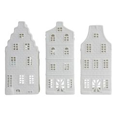 Canal House Tealight holder B (set of 3) - Amsterdam Cheese Company