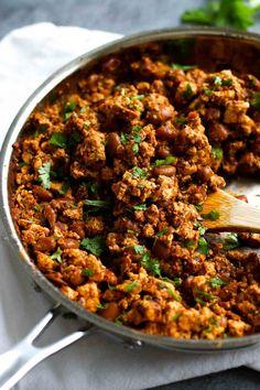 Sofritas Tofu - just like Chipotle! Make your own vegetarian or vegan bowls at home - YUMMY!