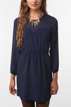dress with sleeves, from Urban.
