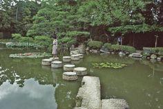 Heian Shrine in Japan, April 15,2013
