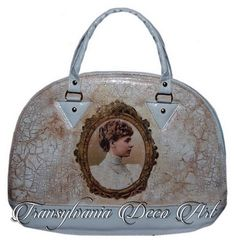 Painted purse, Handmade decorated handbag, Queen Mary of Romania bag, Transylvania Gift, Romanian gift
