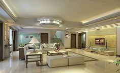 33 great interior design ideas for ceiling design in the living room - Home Decoration Ceiling Design Living Room, Bedroom False Ceiling Design, Living Room Designs, Living Room Decor, Bedroom Decor, Design Bedroom, Living Rooms, Bedroom Ideas, Dream House Plans