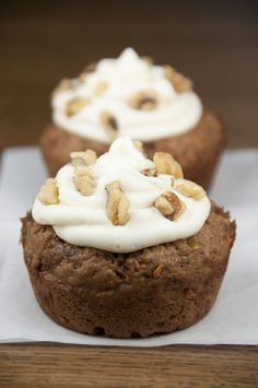These jumbo or giant carrot cake cookie cups are filled AND topped with a whipped cream cheese frosting and are a great Easter dessert recipe idea!