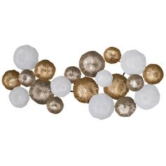 This Multi Circles Metal Wall Décor will add stunning style to your home with this metal construction.