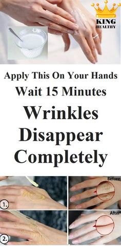 Apply This On Your Hands Wait 15 Minutes And Wrinkles Disappear Completely! – Care – Skin care , beauty ideas and skin care tips Skin Care Regimen, Skin Care Tips, Skin Tips, Coconut Oil For Skin, Hand Care, Anti Aging Skin Care, Pinterest Design, Healthy Skin, Healthy Juices
