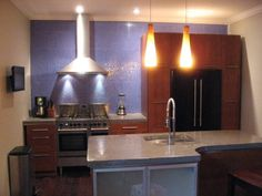 Kitchen Small Kitchen Design Plan Kitchen Ceiling Lamp White Concrete Countertops Kitchen Wood Flooring Kitchen Chimney Steel Concrete Countertops General Guide: Pros and Cons