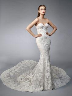 1039525cf58fc Enzoani - Wedding Belles Wedding Dress Types, Wedding Dresses With Flowers, Bridal  Wedding Dresses