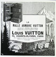 Vintage Travel - Louis Vuitton