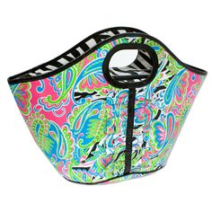 Wild Paisley Cooler Tote