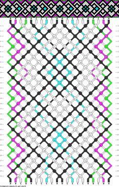 Frienship Bracelet patterns.